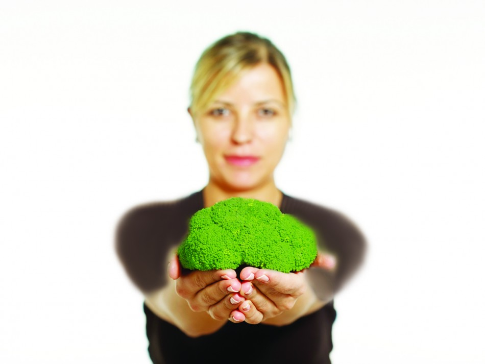woman-broccoli