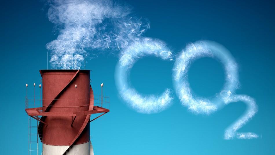 Carbon Dioxide. 3D. Carbon Dioxide Causing Global Warming XXL