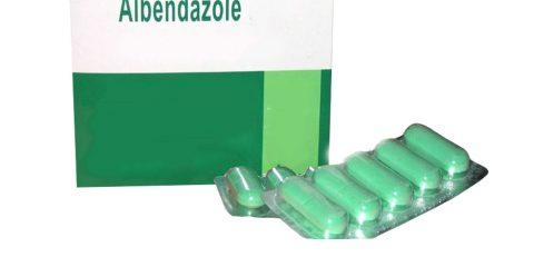 آلبندازول Albendazole (Albenza)