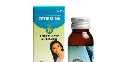 مصرف سیتریزین